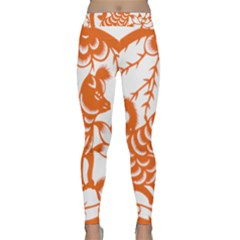 Chinese Zodiac Dog Classic Yoga Leggings