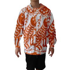 Chinese Zodiac Dog Hooded Wind Breaker (kids)