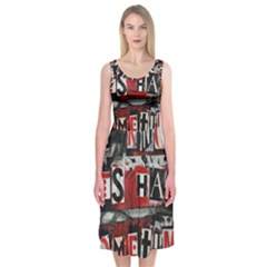 Top Lyrics   Twenty One Pilots The Run And Boys Midi Sleeveless Dress