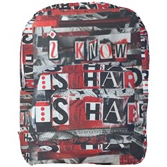 Top Lyrics   Twenty One Pilots The Run And Boys Full Print Backpack