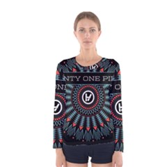 Twenty One Pilots Women s Long Sleeve Tee
