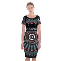 Twenty One Pilots Classic Short Sleeve Midi Dress