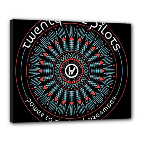 Twenty One Pilots Canvas 20  X 16