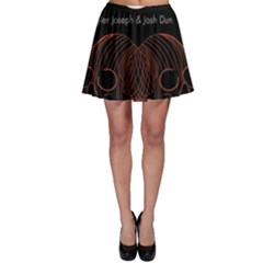 Twenty One Pilots Event Poster Skater Skirt