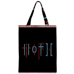 Twenty One Pilots Event Poster Zipper Classic Tote Bag