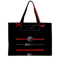 Twenty One Pilots Event Poster Zipper Mini Tote Bag