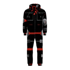 Twenty One Pilots Event Poster Hooded Jumpsuit (kids)
