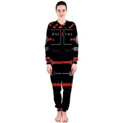 Twenty One Pilots Event Poster Onepiece Jumpsuit (ladies)