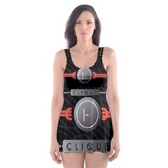 Twenty One Pilots Event Poster Skater Dress Swimsuit
