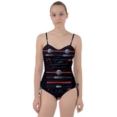 Twenty One Pilots Event Poster Sweetheart Tankini Set