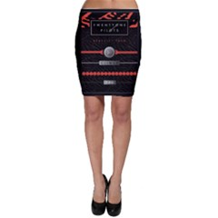Twenty One Pilots Event Poster Bodycon Skirt