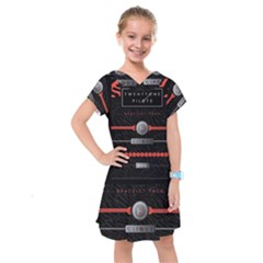 Twenty One Pilots Event Poster Kids  Drop Waist Dress