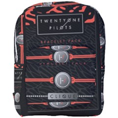 Twenty One Pilots Event Poster Full Print Backpack