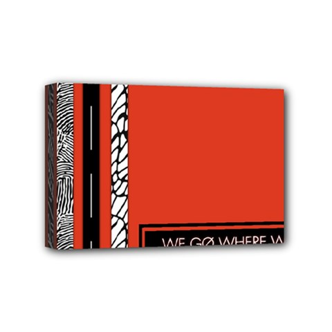 Poster Twenty One Pilots We Go Where We Want To Mini Canvas 6  X 4