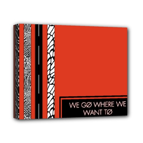 Poster Twenty One Pilots We Go Where We Want To Canvas 10  X 8