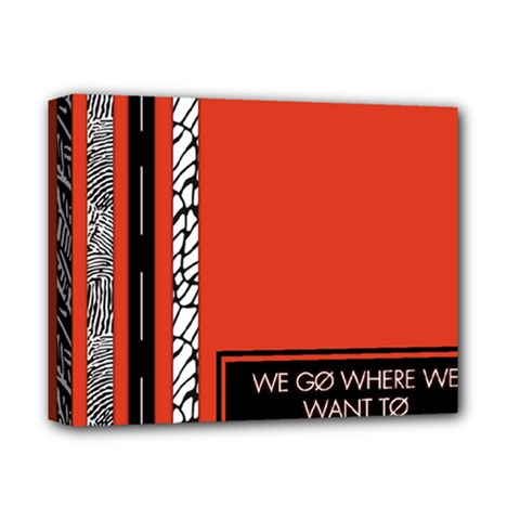 Poster Twenty One Pilots We Go Where We Want To Deluxe Canvas 14  X 11