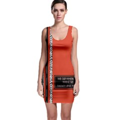 Poster Twenty One Pilots We Go Where We Want To Bodycon Dress