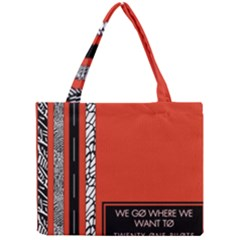 Poster Twenty One Pilots We Go Where We Want To Mini Tote Bag