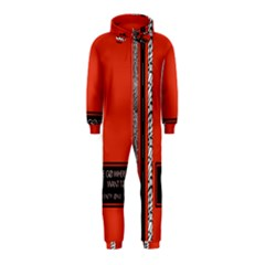 Poster Twenty One Pilots We Go Where We Want To Hooded Jumpsuit (kids)