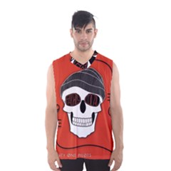 Poster Twenty One Pilots Skull Men s Basketball Tank Top