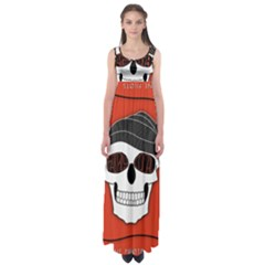 Poster Twenty One Pilots Skull Empire Waist Maxi Dress