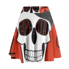Poster Twenty One Pilots Skull High Waist Skirt