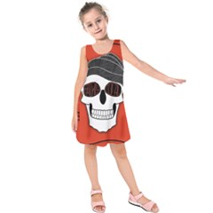 Poster Twenty One Pilots Skull Kids  Sleeveless Dress