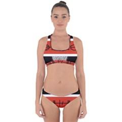 Poster Twenty One Pilots Cross Back Hipster Bikini Set