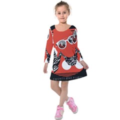 Twenty One Pilots Poster Contest Entry Kids  Long Sleeve Velvet Dress