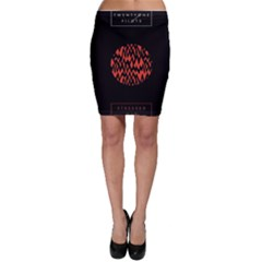 Albums By Twenty One Pilots Stressed Out Bodycon Skirt