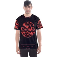 Albums By Twenty One Pilots Stressed Out Men s Sports Mesh Tee