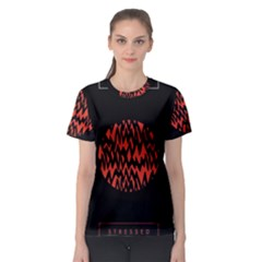 Albums By Twenty One Pilots Stressed Out Women s Sport Mesh Tee