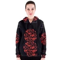 Albums By Twenty One Pilots Stressed Out Women s Zipper Hoodie