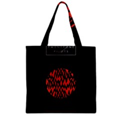 Albums By Twenty One Pilots Stressed Out Zipper Grocery Tote Bag