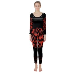 Albums By Twenty One Pilots Stressed Out Long Sleeve Catsuit