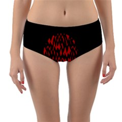 Albums By Twenty One Pilots Stressed Out Reversible Mid Waist Bikini Bottoms