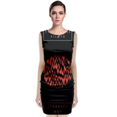 Albums By Twenty One Pilots Stressed Out Classic Sleeveless Midi Dress