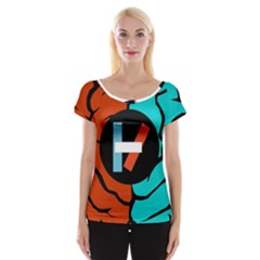 Twenty One Pilots Cap Sleeve Tops