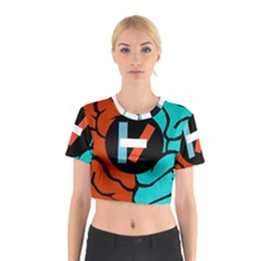 Twenty One Pilots Cotton Crop Top