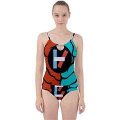 Twenty One Pilots Cut Out Top Tankini Set