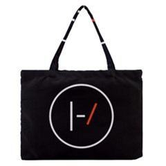 Twenty One Pilots Band Logo Zipper Medium Tote Bag
