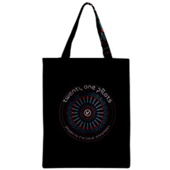 Twenty One Pilots Power To The Local Dreamder Zipper Classic Tote Bag