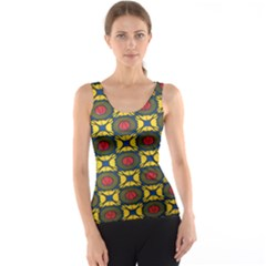 African Textiles Patterns Tank Top