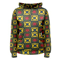 African Textiles Patterns Women s Pullover Hoodie