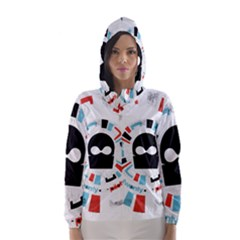 Twenty One Pilots Hooded Wind Breaker (women)