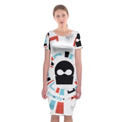 Twenty One Pilots Classic Short Sleeve Midi Dress