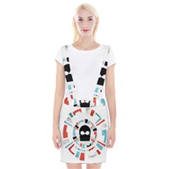 Twenty One Pilots Braces Suspender Skirt