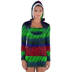 Cells Rainbow Long Sleeve Hooded T Shirt
