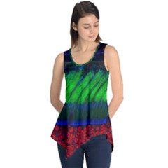 Cells Rainbow Sleeveless Tunic