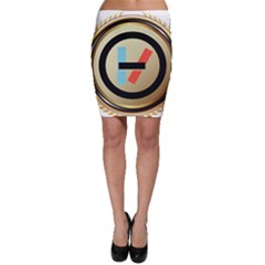 Twenty One Pilots Shield Bodycon Skirt